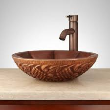 vessel sinks copper vessel sinks bathroom double wall sink for