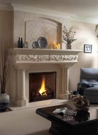 New Home Decorating Ideas by Decor Interior Fireplace Mantel Designs Surround Ideas Featured