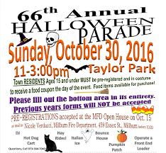 millburn halloween parade sign up today millburn short hills