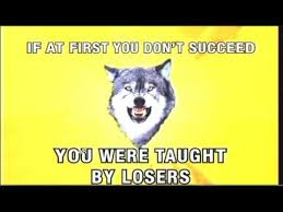 Insanity Wolf Meme Generator - courage wolf know your meme