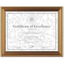 document frame dax antique colored document frame w certificate plastic 8 1 2 x