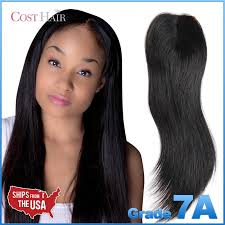 top closure grade 7a v part indian remy human hair top closure