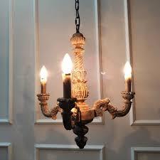 Wohnzimmer Lampen Rustikal Vintage Amercian Rustikalen Holz Kronleuchter Lampe Wohnzimmer