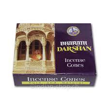 Sho Natur bharat darshan cones ashoka trading incense indian shop