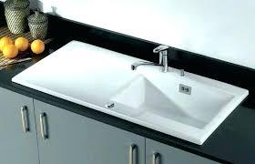 poser cuisine evier en gres blanc a poser lavabo piedra beige a lavabo piedra