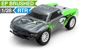 monster jam 1 24 scale trucks exceed rc microx 1 28 micro scale short course truck ready to run