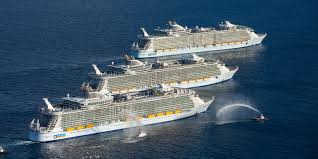 largest ship in the world the 10 largest cruise ships in the world