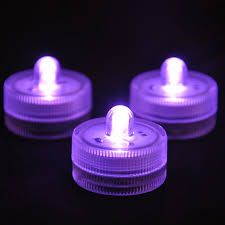 100pcs pack 11 colors decor small battery operated single led