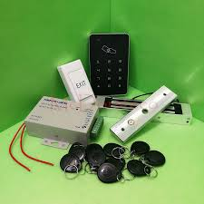 free diy rfid door access control kit set with electric magnetic lock 10 rfid