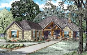 rustic brick ranch home with sunroom 60603nd architectural