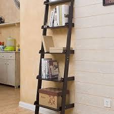 meuble etagere cuisine 5 niveaux meuble noir étagère murale style échelle rangement séjour