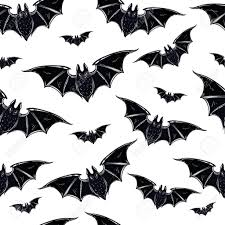 halloween seamlessloween pattern bats hand drawn holiday symbols