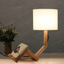 Creative Table Lamps American Country Industrial Retro Adjustable Vintage Led Table