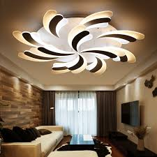 led interior lights home abajur direct selling ce ac the rectangle acrylic led ceiling