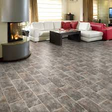 Tile Effect Laminate Flooring Uk Presto Tile Vinyl Flooring Buy Tile Effect Lino Onlinecarpets
