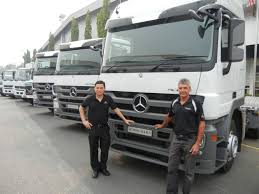 mercedes prime mover 25 000th mercedes commercial vehicle produced in malaysia