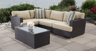 outdoor furniture for small spaces sofa outdoor wicker sectional set patio furniture corner small