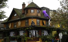 haunted house halloween decorations scary halloween pumpkin 2012 haunted house hd wallpaper of late