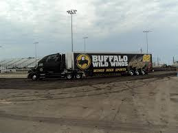 buffalo wild wings transporter hauler volvo 82 race