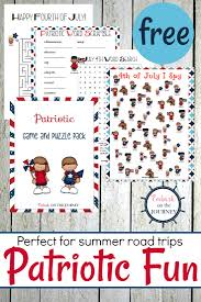 printable patriotic games and puzzles pack for kids