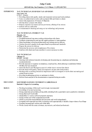 sle of resume tax technician resume sles velvet