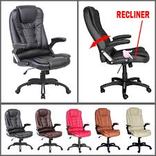Reclining Office Chair With Footrest Furniture Cool Reclining Office Chairs Recliner Chair Leather