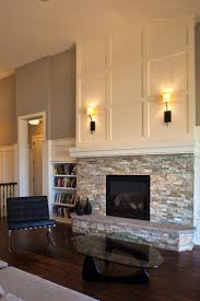 how to cover a brick fireplace with stone hgtv with stone