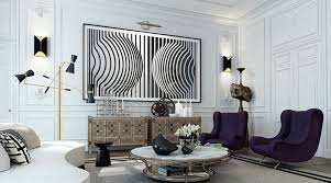 Parisian Interior Design  Images Of Chic Paris Apartments  Style - French modern interior design