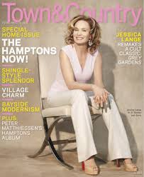 cover of town u0026 country with jessica lange may 2009 id 10459