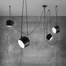 Pendant Lighting Black Aim Modern Hanging Light Fixtures By Bouroullec Brothers