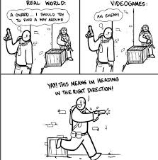 Video Game Logic Meme - video game logic fun