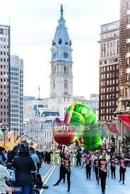 philadelphia thanksgiving day parade stock photos and pictures