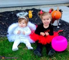 Devil Angel Halloween Costumes Angel U0026 Devil Divas Baby Halloween Costumes