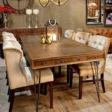 reclaimed wood tables industrial dining tables modish living