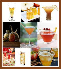 thanksgiving day cocktails and drinks for the