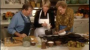video bearnaise sauce with julia child martha stewart