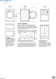 Frigidaire Laundry Pedestal Page 3 Of Frigidaire Washer Fafs4474la User Guide Manualsonline Com