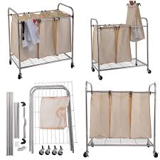 Medical Laundry Hamper by Laundry Cart On Wheels Wholesale Hampers Laundry Cart And Sorter