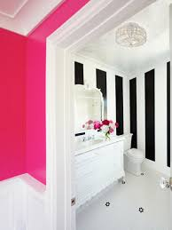 Black And White And Pink Bedroom Rooms Viewer Hgtv