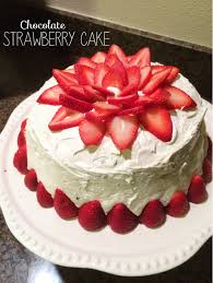 chocolate strawberry cake the sara project cakes pinterest