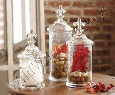 fleur de lis canisters for the kitchen home essentials and beyond set of 3 fleur de lis jars for the