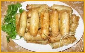 recette de cuisine marocaine en rouleaux feuilletés aux pommes de terre صوابع البطاطة sousoukitchen