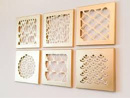 Canvas Home Decor Super Easy Diy For Home Decor Gold Canvas Cut Outs Yes Please