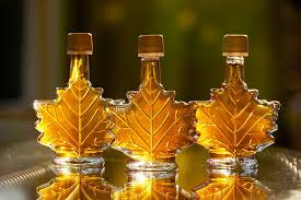ribbon syrup maple syrup maple leaf gift bottle vermont maple syrup