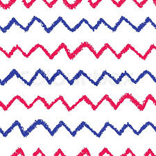 chevron pattern in blue seamless chevron pattern hand painted with oil pastel crayons red