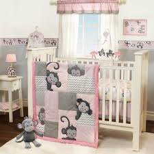 Baby Boy Monkey Crib Bedding Sets Lambs Pinkie 3 Crib Bedding Set Monkey Chevron