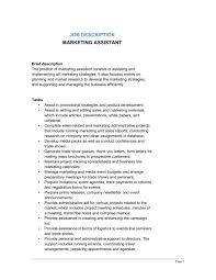 Marketing Assistant Resume Librarian Job Description Salary And Skills With Regard To 21