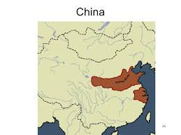 Map Of China Rivers by China U2022 Map Of Yellow River