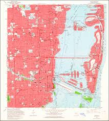 Fla Map Image Of The 1962 Miami Florida 7 5 Minute Series Quadrangle 1