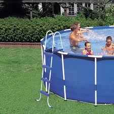 Exterior Amusing Round Pools Walmart Coleman 16 X 48 Power Steel